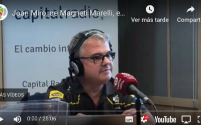 🎙️🎙️¿Tienen motivos los talleres de reparación de vehículos para estar preocupados? Entrevistamos a Joan Miró, de Magneti Marelli🎙️🎙️